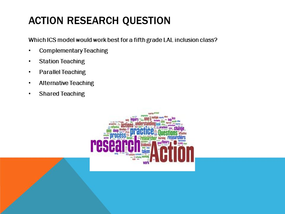 Action Research Question