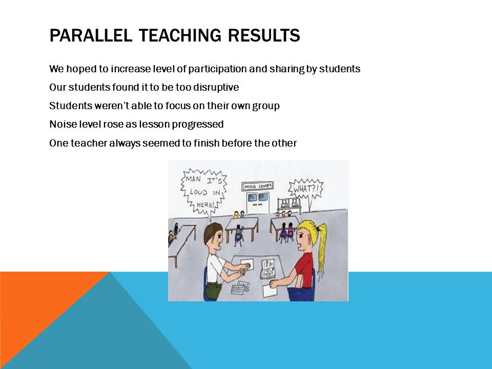 Parallel Teaching Results