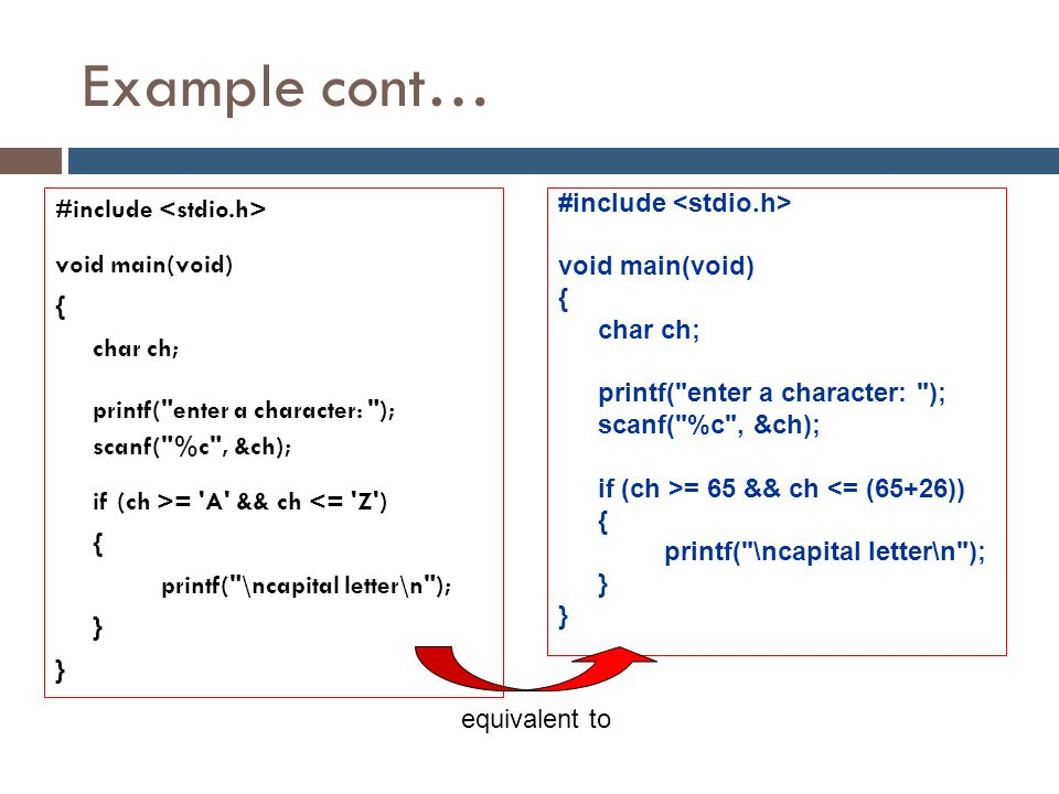Example cont…