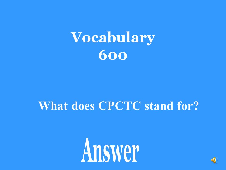 What does CPCTC stand for