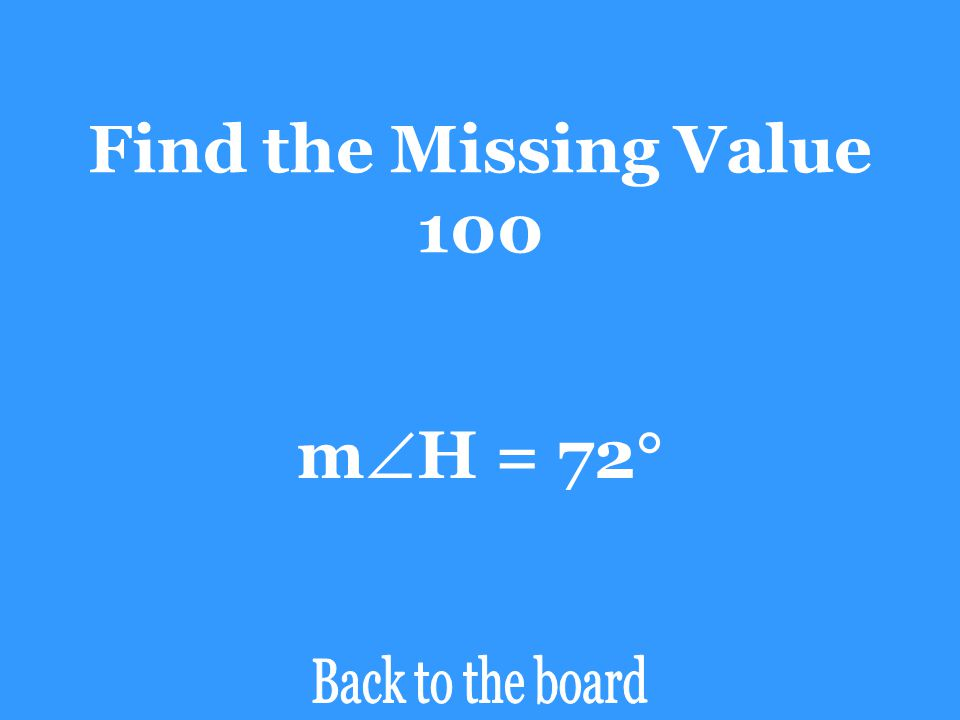 Find the Missing Value 100 mH = 72