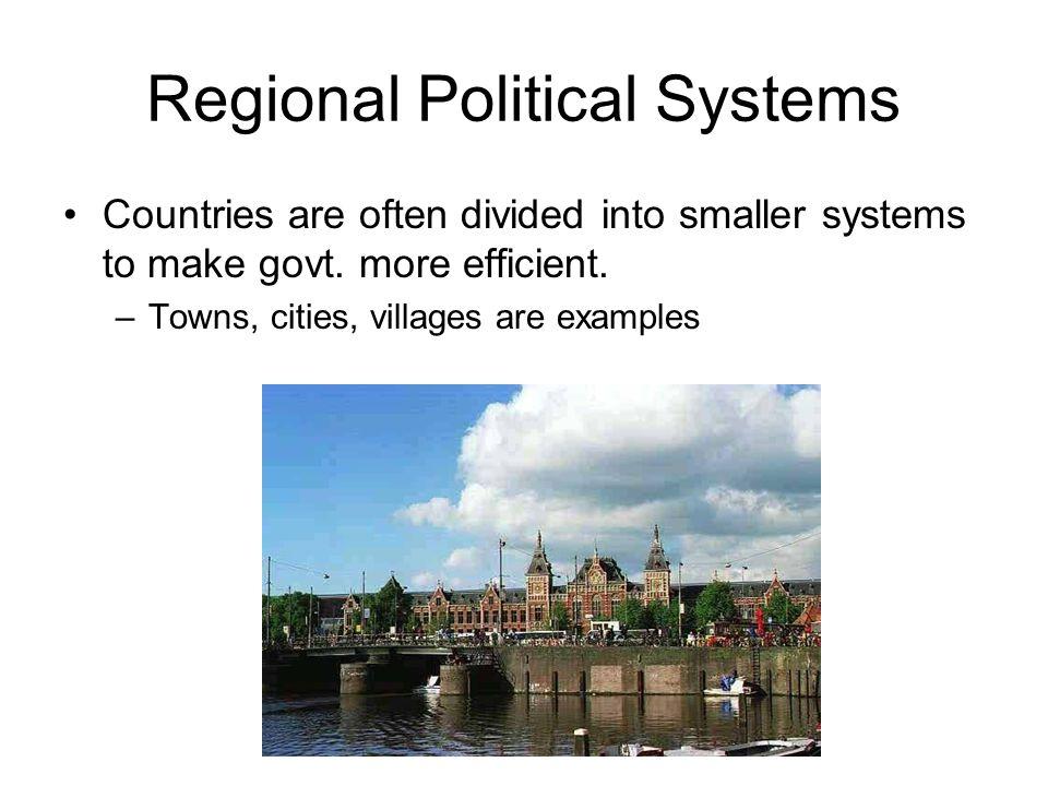 Regional Political Systems