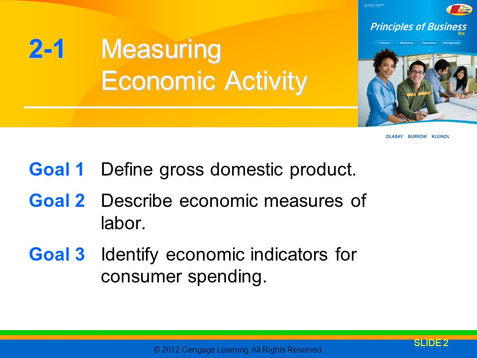 2-1 Measuring Economic Activity