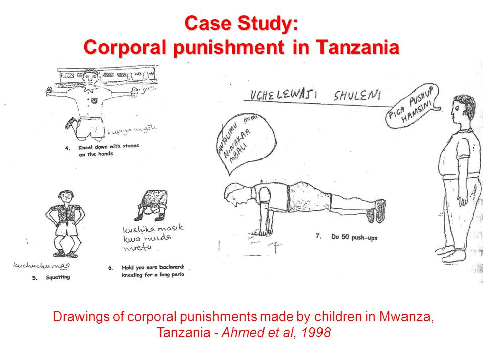 Case Study: Corporal punishment in Tanzania