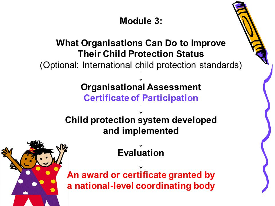 What Organisations Can Do to Improve Their Child Protection Status