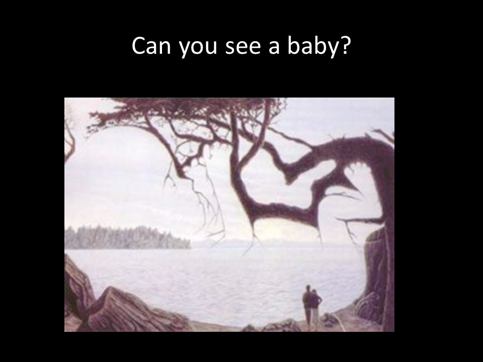 Can you see a baby