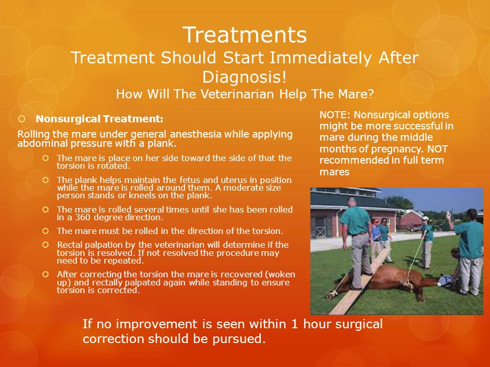 Treatments Treatment Should Start Immediately After Diagnosis