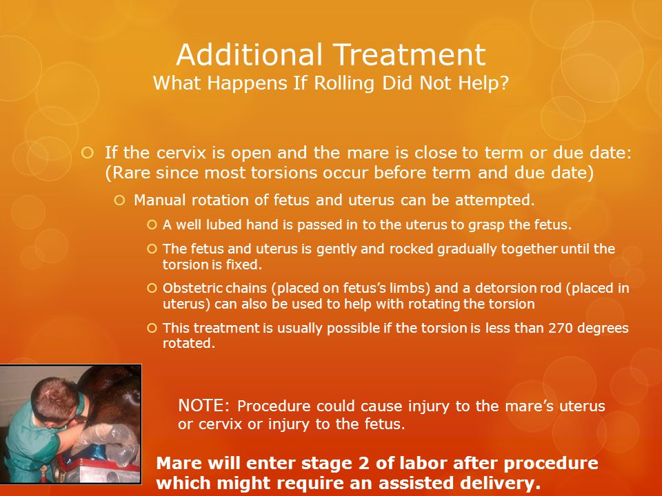 Additional Treatment What Happens If Rolling Did Not Help