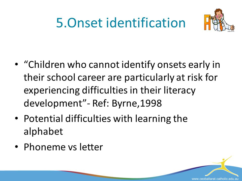 5.Onset identification