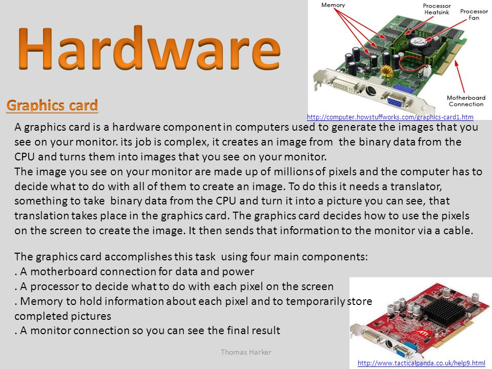 Hardware Graphics card