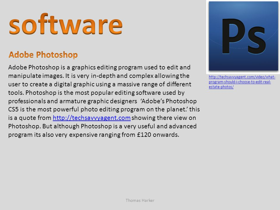 software Adobe Photoshop