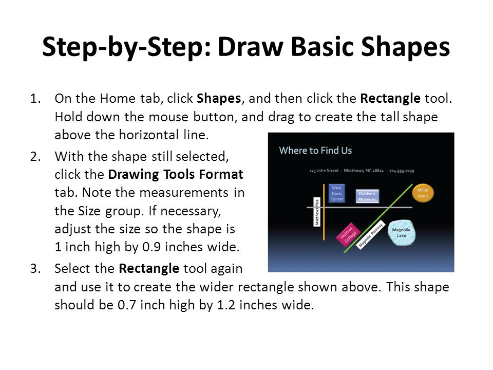 Step-by-Step: Draw Basic Shapes