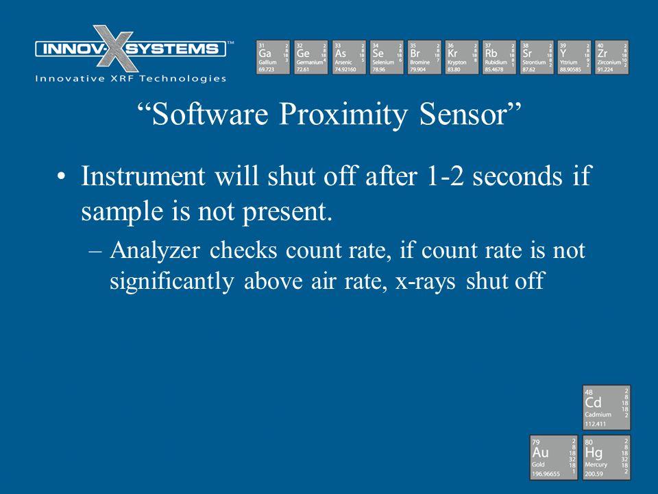 Software Proximity Sensor