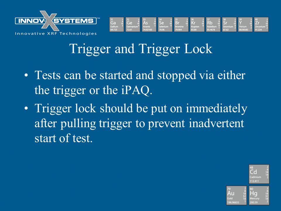 Trigger and Trigger Lock
