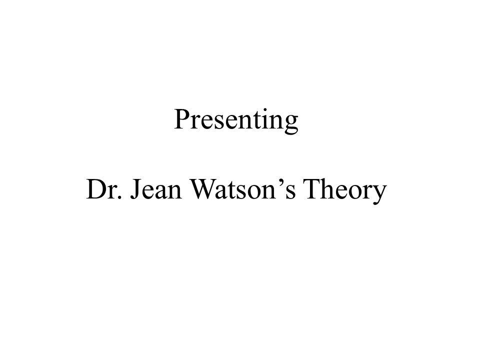 dr margret jean watson essay