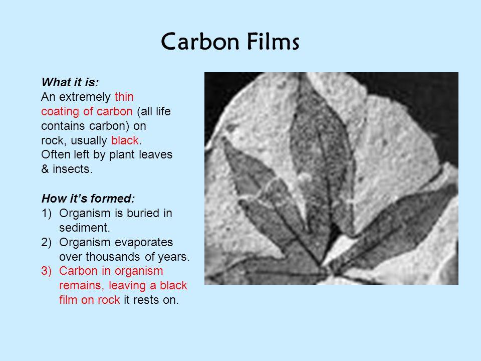 Carbon Films What it is: