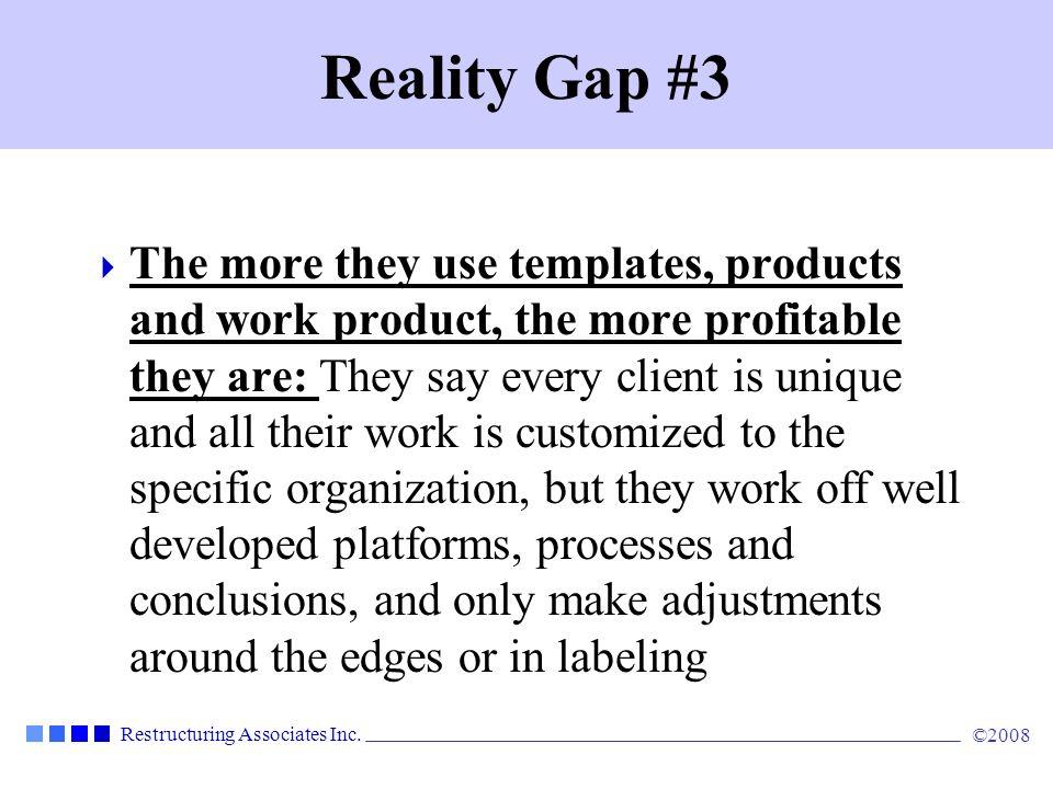 Reality Gap #3
