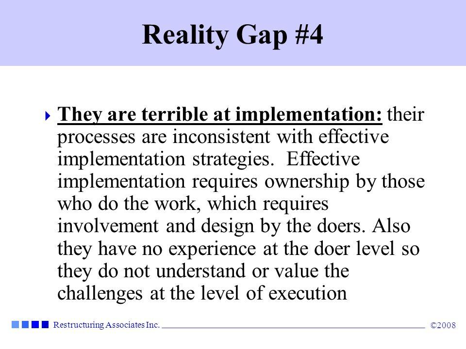Reality Gap #4