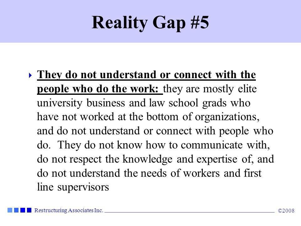 Reality Gap #5