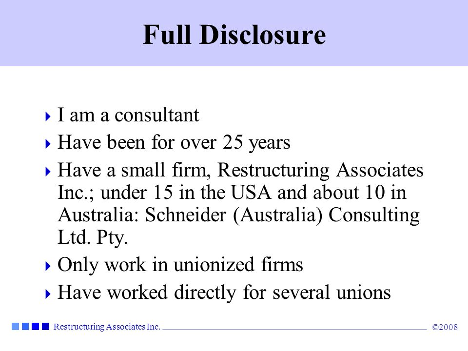 Full Disclosure I am a consultant Have been for over 25 years