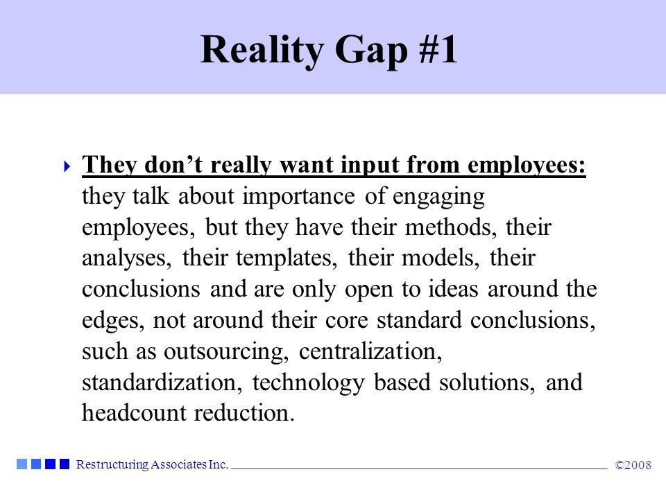 Reality Gap #1