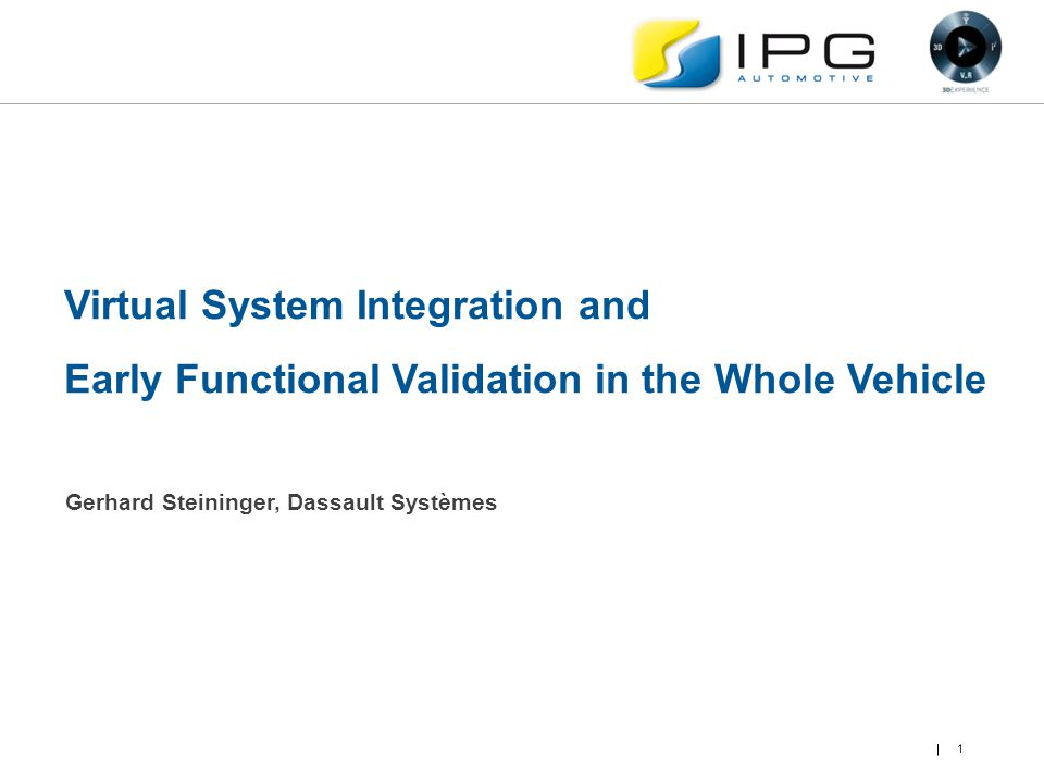 Virtual System Integration and