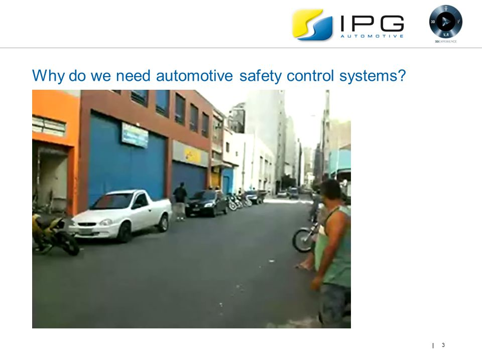 Why do we need automotive safety control systems