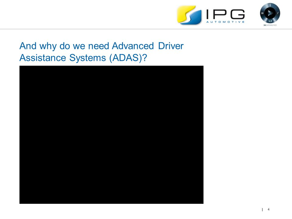 And why do we need Advanced Driver Assistance Systems (ADAS)