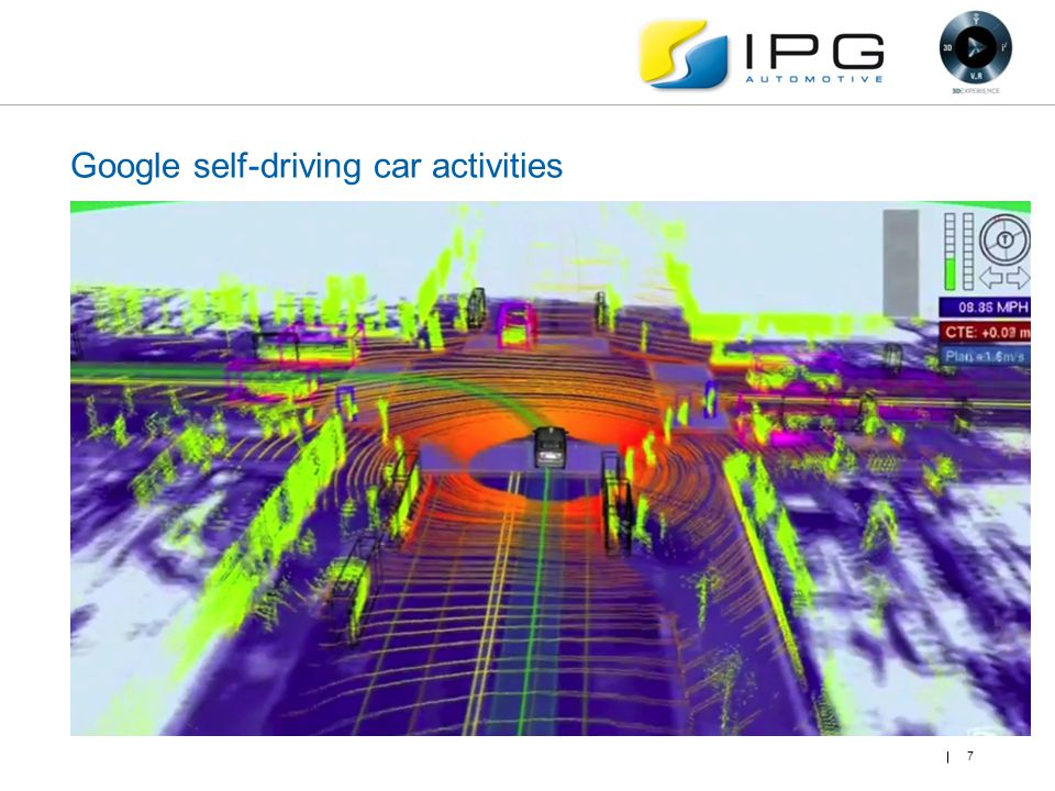 Google self-driving car activities