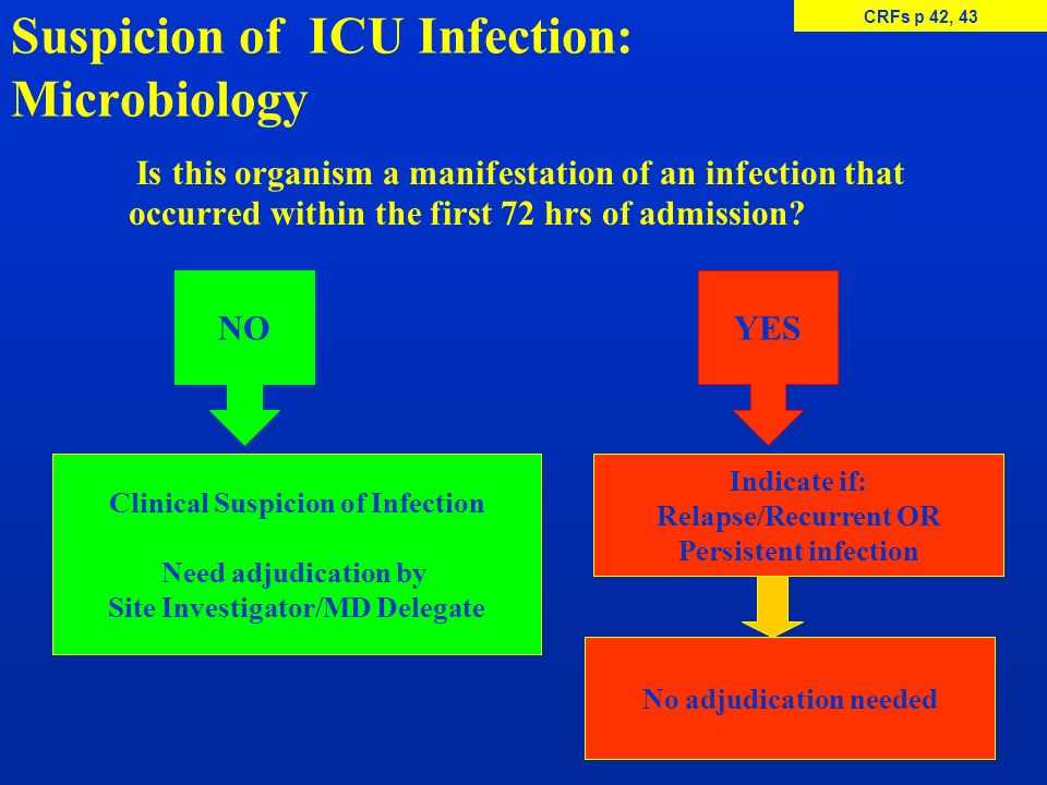 Suspicion of ICU Infection: Microbiology