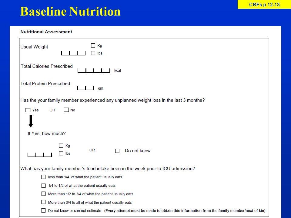 Baseline Nutrition CRFs p 12-13