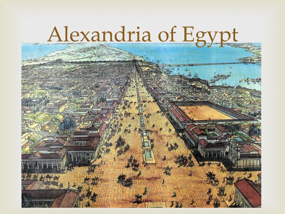 Alexandria of Egypt