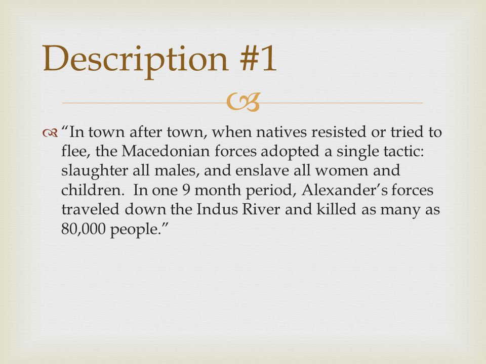 Description #1