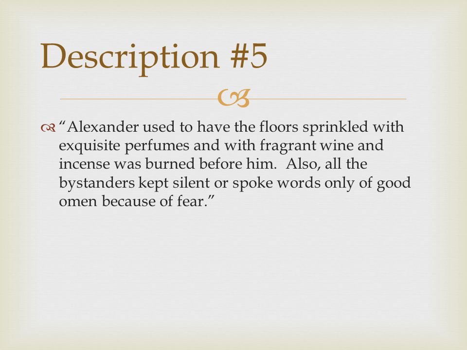 Description #5