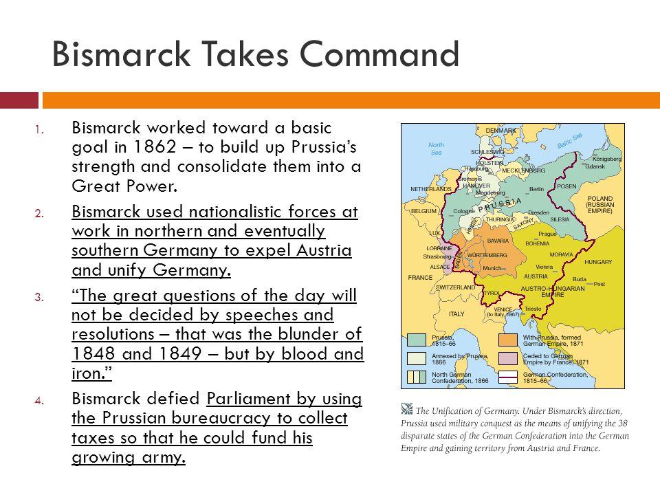 Bismarck Takes Command