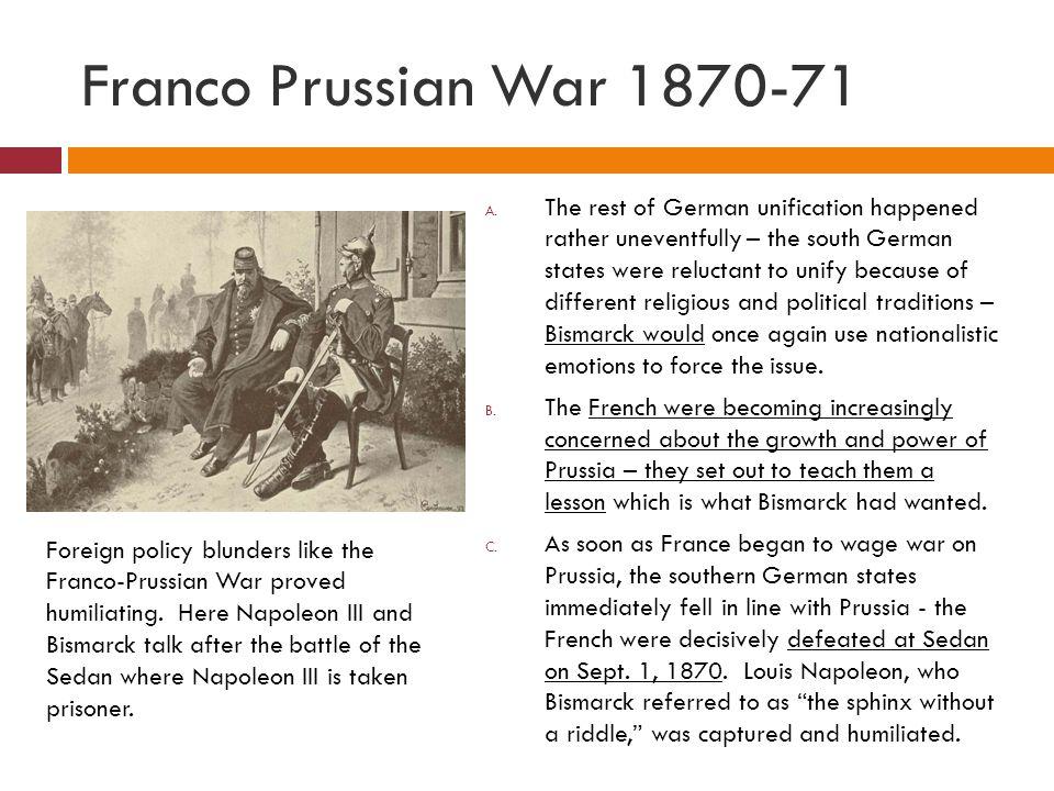 Franco Prussian War 1870-71
