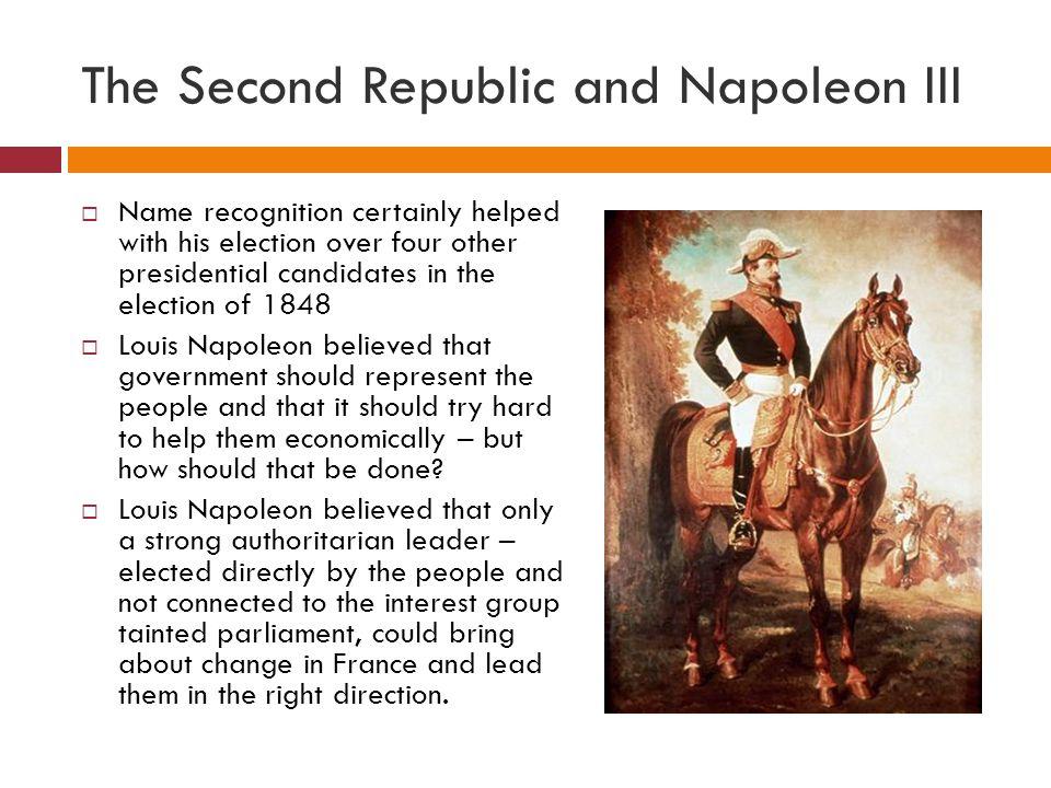 The Second Republic and Napoleon III