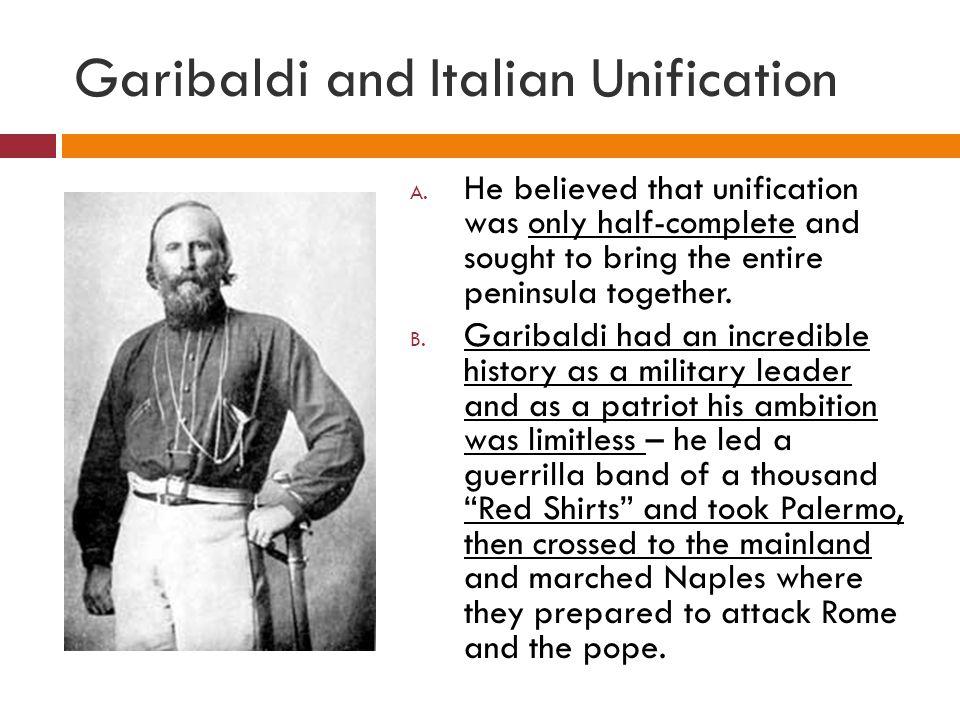 Garibaldi and Italian Unification