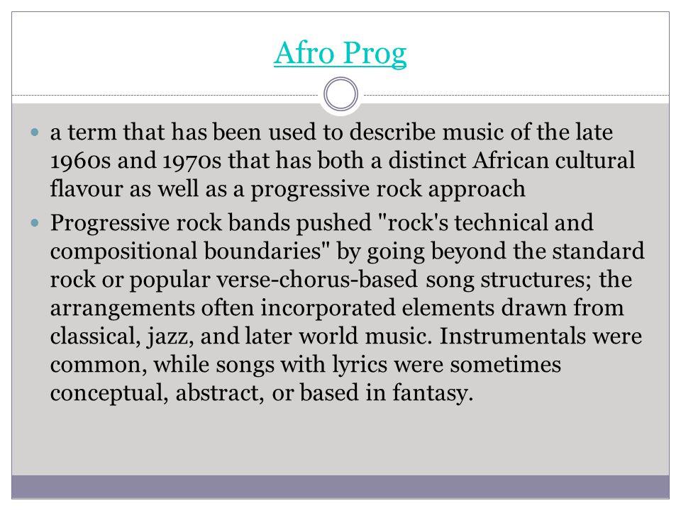 Afro Prog