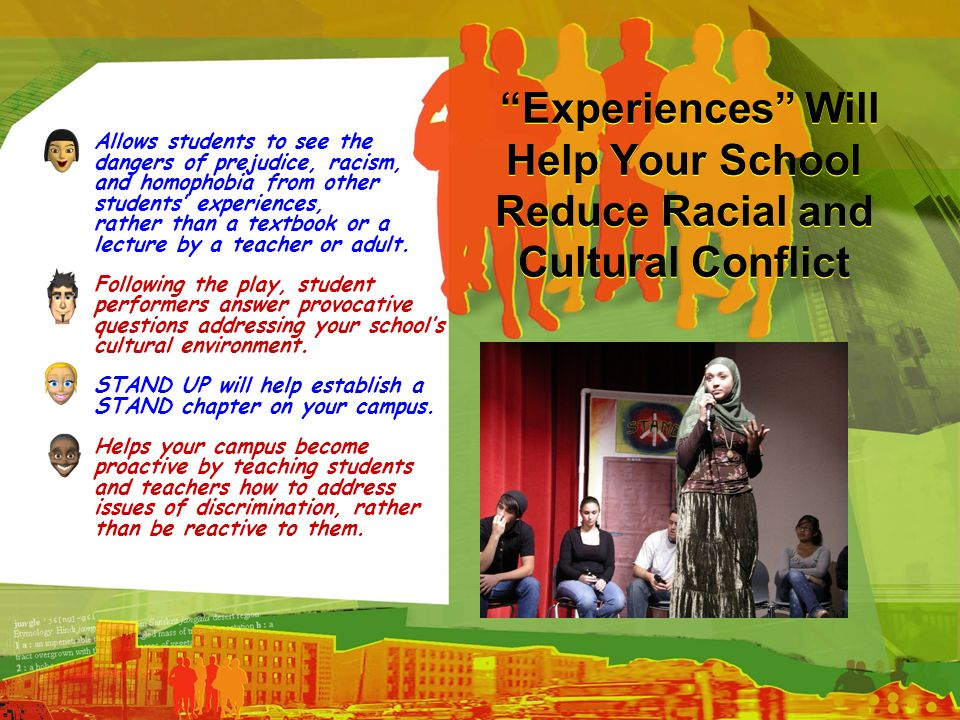 Experiences Will Help Your School Reduce Racial and Cultural Conflict