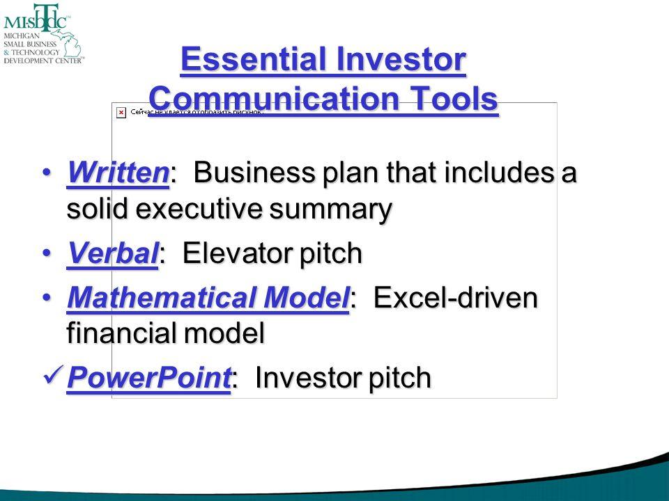 Essential Investor Communication Tools