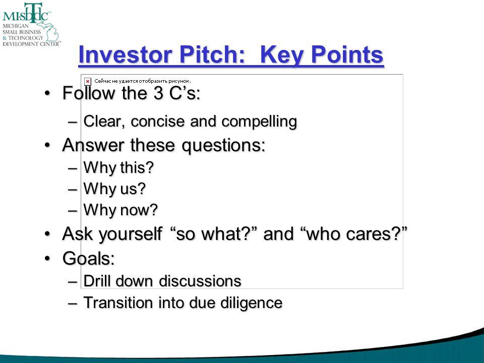 Investor Pitch: Key Points
