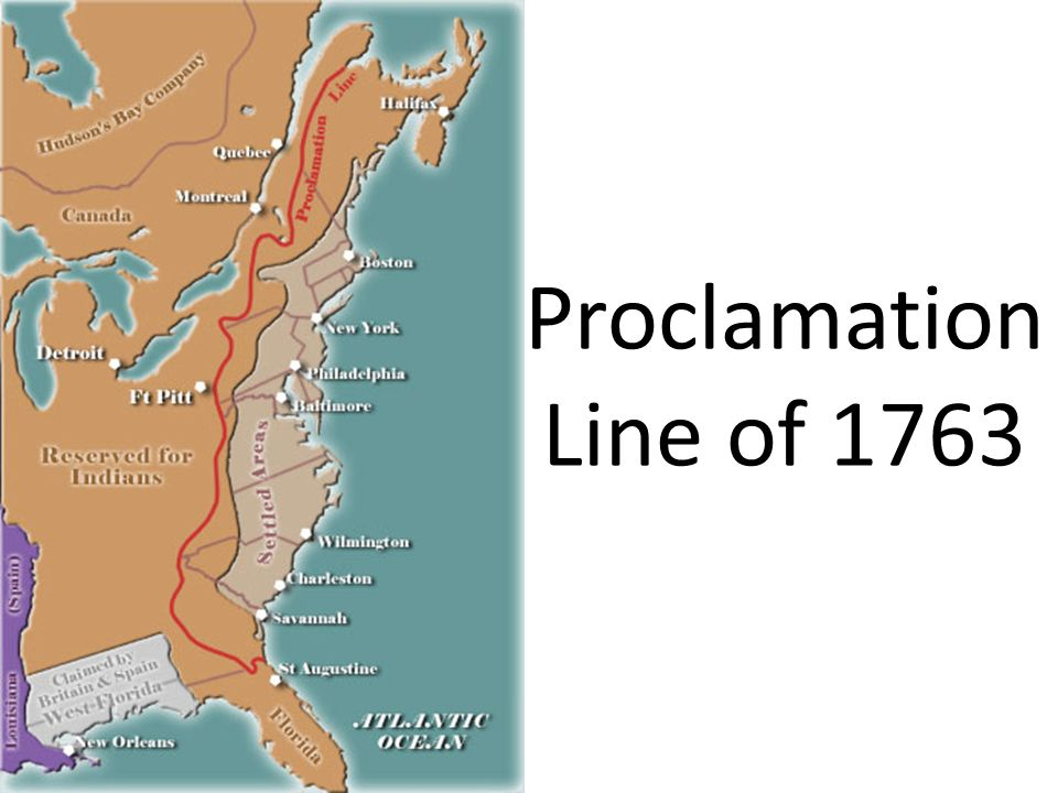 an introduction to the proclamation of 1763 Read the full-text online edition of the transformation of the north atlantic world, 1492-1763: an introduction  castilla—and the proclamation of a new.