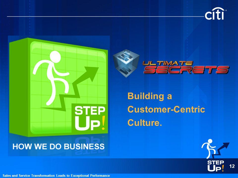 Building a Customer-Centric Culture.