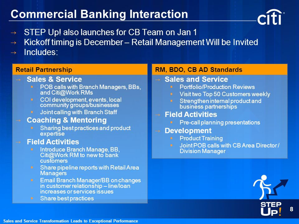 Commercial Banking Interaction