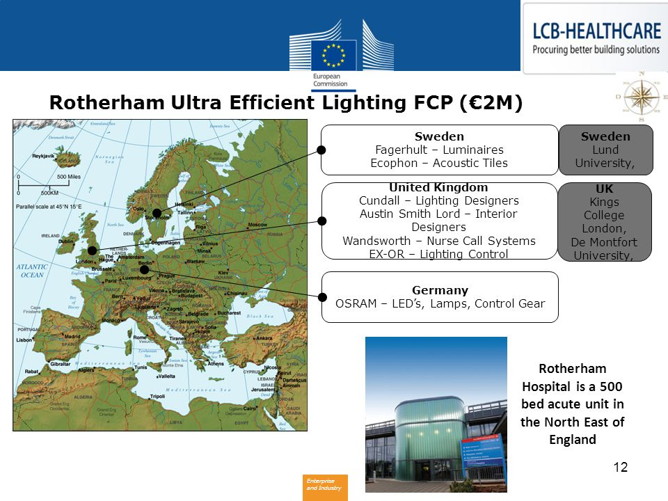 Rotherham Ultra Efficient Lighting FCP (€2M)
