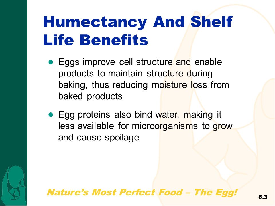Humectancy And Shelf Life Benefits