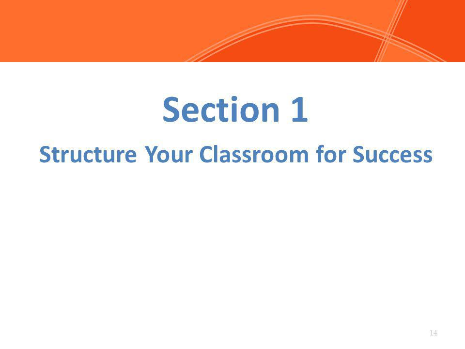 Structure Your Classroom for Success