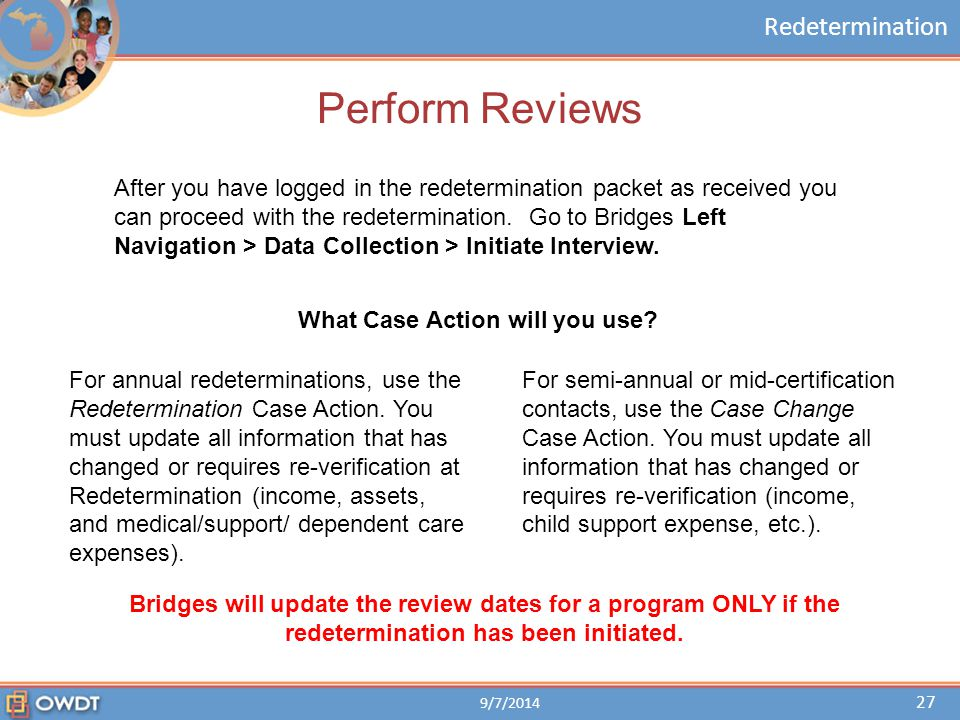 Redetermination Module - ppt download