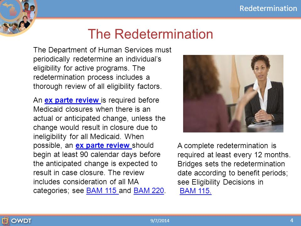 The Redetermination